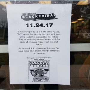 black-friday-chihuahuas-deli-lunch-breakfast-sandwich-rsd-record-store-day-gerosa-records